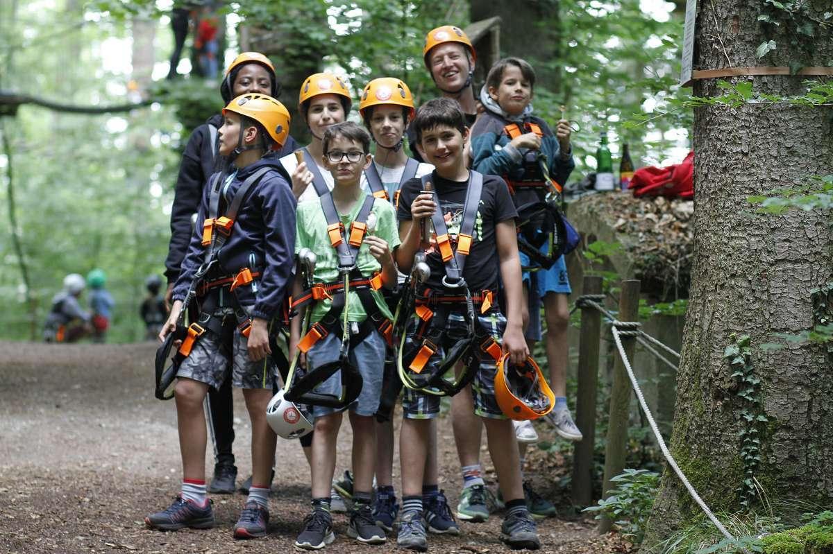 Fokus camp Kletterwald
