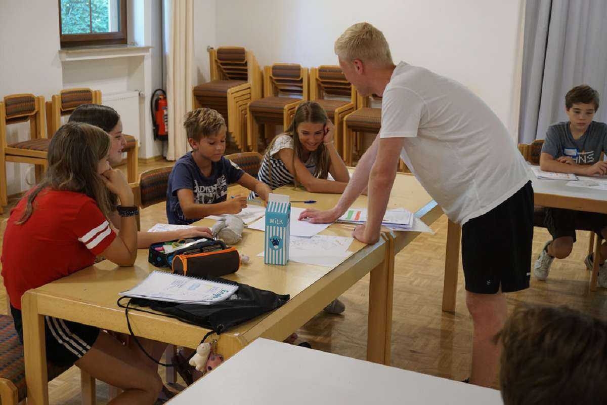 Fokus camp Unterricht