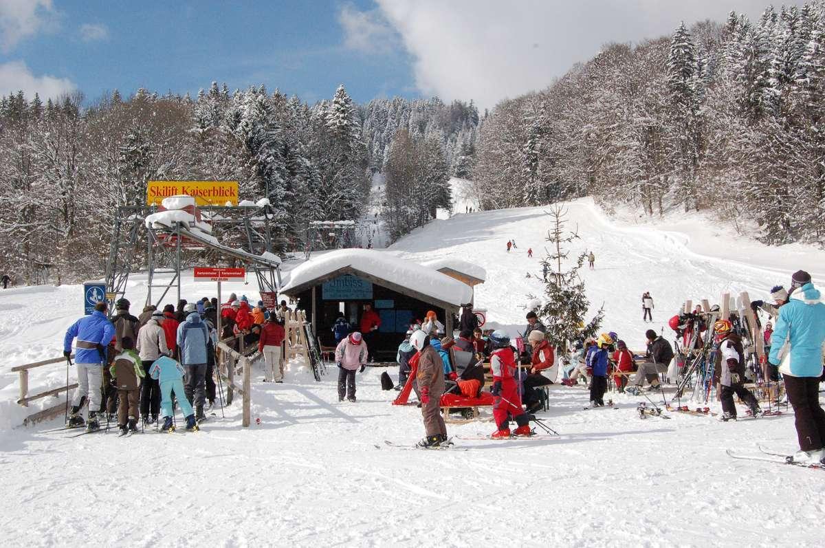 Skifahren in Sachrang (1)