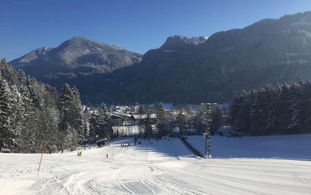 Skifahren in Sachrang (6b)