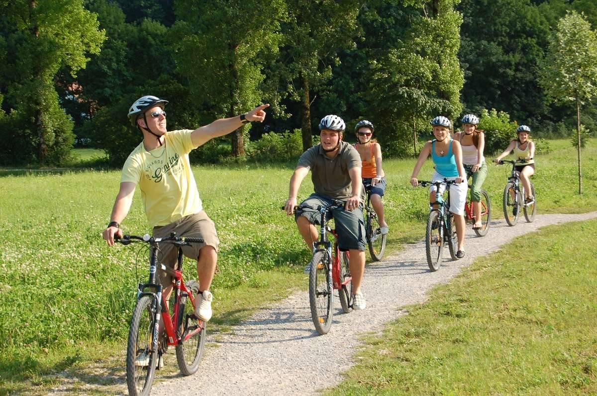 Fahrradfahren im Priental
